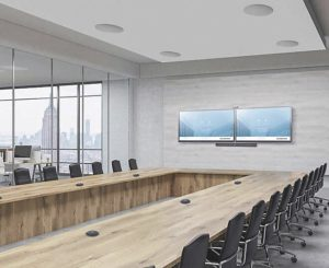 Conference room display size
