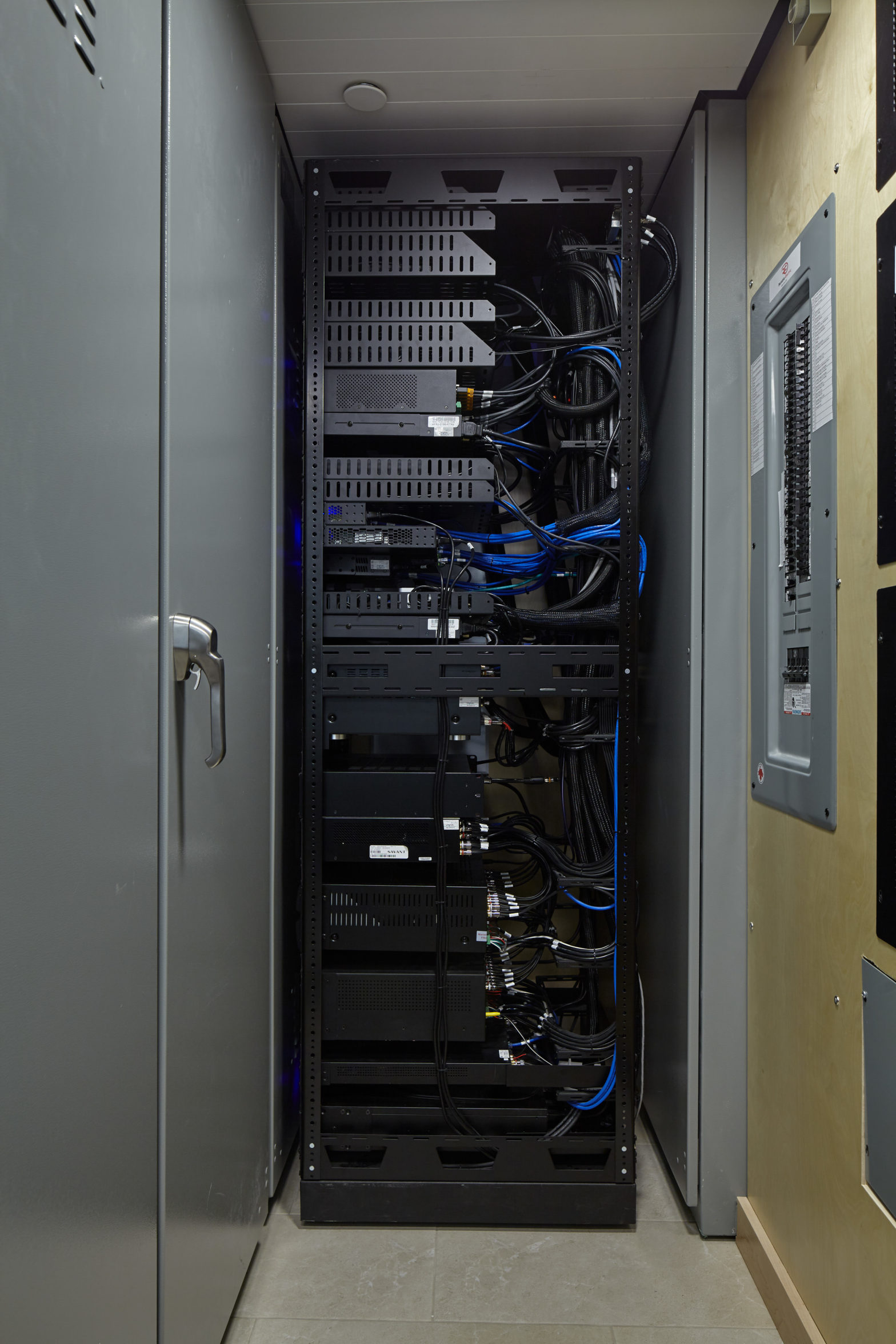 Rack Side View